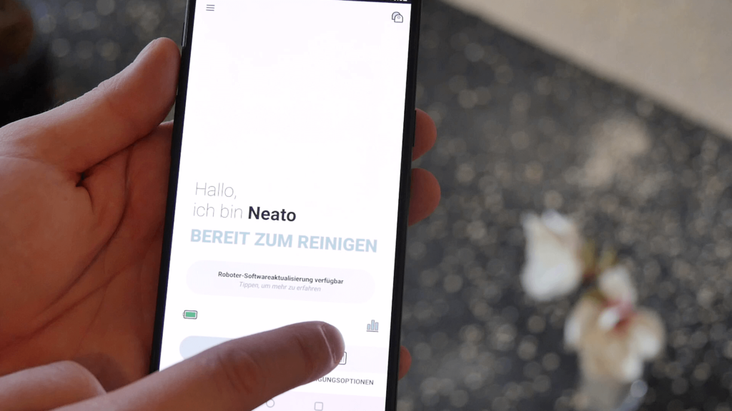 Neato BotVac D5 connected Smartphone App