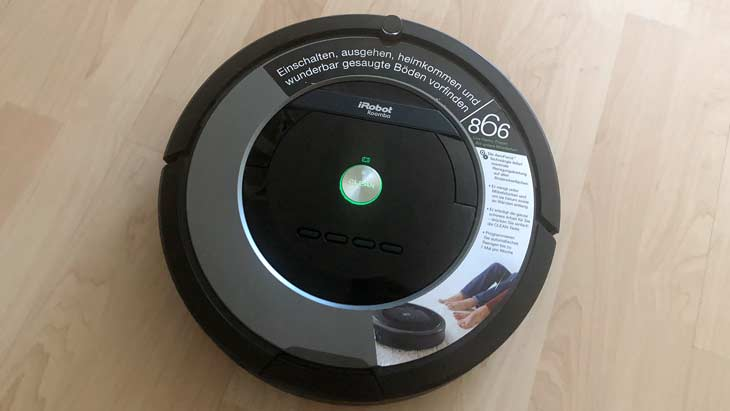 irobot roomba 866 test