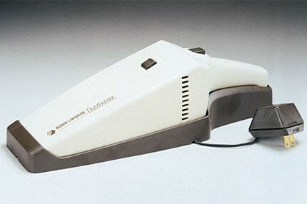 black decker dustbuster 1979